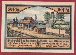 Allemagne 1 Notgeld 50 Pfenning  Stadt Ilmenau  (RARE)  Dans L 'état Lot N °5101 - Collections