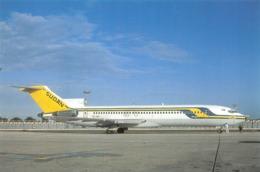 Avion - Sudan Airways - B-727-2H3 Advenced - Photo Christian Volpati - Collection Vilain N'G-84 - 1946-....: Ere Moderne