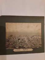 GRANDE FOTO   SUR CARTON GREECE GRIEKENLAND PATRAS   AFMETINGEN 12 CM OP  16 CjM - Fotos