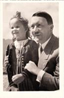 """III. Reich, Propaganda Karte, """" Der Führer Mit Mädchen """" - Weltkrieg 1939-45"""