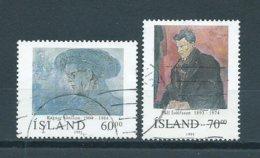 1991 IJsland Complete Set Famous Persons Used/gebruikt/oblitere - 1944-... Republic