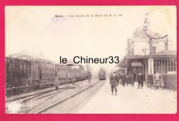 89 - SENS---Les Quais De La Gare Du P.L.M--animé - Sens