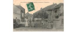 Vallerois  Le Bois  -- Maison Commune Et Fontaine - Autres Communes