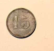 15 Pfennig Strassenbahn Cemnitz - [ 3] 1918-1933 : Weimar Republic