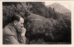 """III. Reich, Propaganda Karte, """"  Der Führer, Eine Stille Stunde Im Berchtesgadener Land  """" - Weltkrieg 1939-45"""
