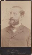 Photographie  Bordeaux Grand Portrait Du Docteur Pitres Neurologue Photo H Panajou Bordeaux ( Ref 191316 ) - Identifizierten Personen