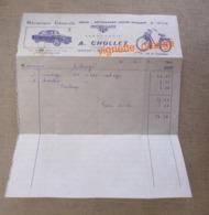 1964 - Vente Réparations Toutes Marque MOTOBECANE - Chanceaux Sur Choisille ( Publicité Voiture Aronde - Vélo Solex - France