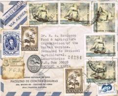34449. Carta Aerea Certificada CHACRAS De CORIA (Mendoza) 1971 A KENYA. Fechador MENDOZA - Guatemala