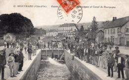 21 Montbard, Entrée Des Usines Metallurgiques Et Canal De Bourgogne - Montbard