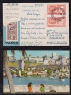Brazil Brasil 1961 VARIG Advertising Postcard SALVADOR To ANVERS Belgium - Brazilië