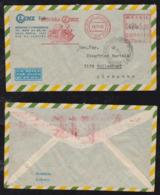Brazil Brasil 1966 Meter Airmail Cover RIO To TOLLENDORF Germany BOMBA LENZ Pumps - Brazilië