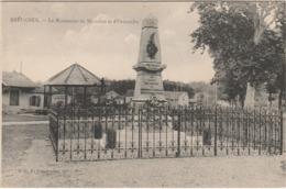 70 BREUCHES  HAUTE  SAONE BELLE  CPA  LE MONUMENT  DE BREUCHES ET D'ORMOICHE - Autres Communes
