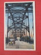 Steel Bridge Across Brazos River    Texas > Waco  Ref 3702 - Waco