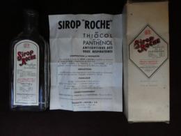 CHy Boite + Flacon (vide) + Notice Sirop ROCHE Au Thiocol & Panthénol Antiseptique Affections Voies Respiratoires - Boîtes