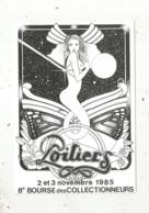 Cp, Bourses & Salons De Collections, 86,Poitiers ,8 E Bourse Des Collectionneurs,1985 ,2 Scans - Borse E Saloni Del Collezionismo