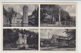 Schloss Mespelbrunn (Neudorf), Forsthaus Echternpfahl, ... Um 1950 - Aschaffenburg