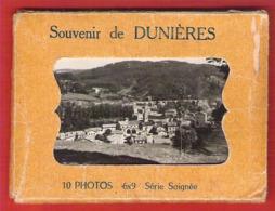 43 HAUTE LOIRE Pochettes De 10 Photos De DUNIERES Format 6x9 - Places