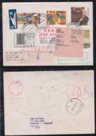 Brazil Brasil 1997 Airmail Cover BRASILIA To BEIJING China Returned To Sender - Brazilië