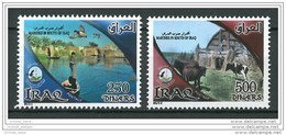 Iraq NEW 2015 Marches In The South - MNH - Complete Set - River Duck Bird Domestic Animals Cow - Irak