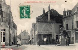 21 Montbard, La Rue De La Liberté - Montbard
