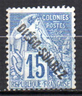 Col17  Colonie Diego Suarez  N° 18 Oblitéré  Cote 25,00€ - Diego-suarez (1890-1898)