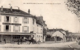 21 Montbard, L'avenue De La Gare - Montbard