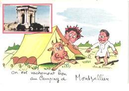FR34 MONTPELLIER -on Est Vachement Bien Au Camping - Belle - Montpellier
