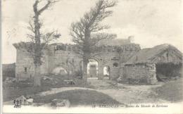 CPA Kerlouan Ruines Du Manoir De Kerivoas - Kerlouan