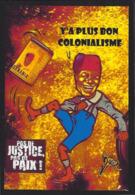 CPM Banania Semaine Anticoloniale Et Antiraciste Par Jihel Tirage Limité En 30 Exemplaires Numérotés Signés - Advertising