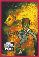 CPM Banania Semaine Anticoloniale Et Antiraciste Par Jihel épreuve D'un Tirage Limité En 30 Exemplaires Numérotés Signés - Advertising