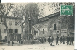CUERS   ( VAR )   PLACE FRANCOIS-BERNARD - Cuers