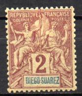 Col17  Colonie Diego Suarez  N° 39 Neuf X MH  Cote  3,50€ - Neufs