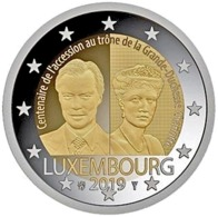 "LUXEMBURGO  2€ 2.019  2019  BIMETÁLICA   ""Grand Duchess Charlotte""  SC/UNC    T-DL-12.318 - Luxemburgo"