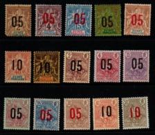 S321.-. FRENCH GUINEA - 1912 - SC#: 48-62 - MNG - SCV: US$ 22.00 ++ - Nuovi