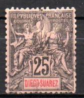 Col17  Colonie Diego Suarez  N° 45 Oblitéré  Cote  12,00€ - Diego-suarez (1890-1898)