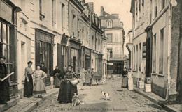 CHATEAU DU LOIR ( 72 ) - La Rue Marchande - Chateau Du Loir