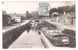 Péniches Sur Le Canal à Amiens (80-Somme) - Houseboats