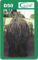 Gambia - Gamcel - Haystack Green Type #1 - Prepaid 100GD, No Expiry Date, Used - Gambia