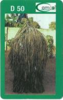 Gambia - Gamcel - Haystack Green Type #2 - Prepaid 100GD, Exp.31.03.2006, Used - Gambia