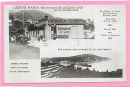 06 VILLEFRANCHE - AUBERGE RESTAURANT LE COQ HARDI - Boulevard Corne D'or - Villefranche-sur-Mer