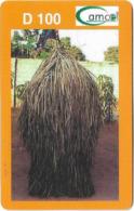 Gambia - Gamcel - Haystack Orange - Prepaid 100GD, Used - Gambia