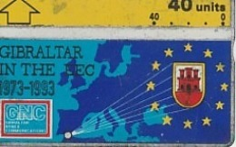 20 YEARS I IN CEE  1973.1993 - Gibraltar