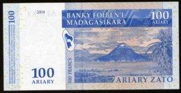 Madagascar 2004 100 Ariary  UNC  Neuf  Parfait - Madagascar
