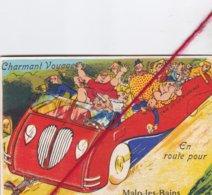 CP 59  -  MALO LES BAINS -   Carte à Systhème - Malo Les Bains