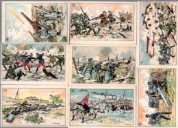 8 Chromos Didactiques, Nathan éditions. Thème : La Grande Guerre. - Other