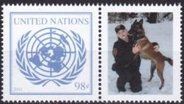 UNO-New York, 2011,  1253,  MNH **, Arbeitshunde Der Vereinten Nationen. - Unused Stamps