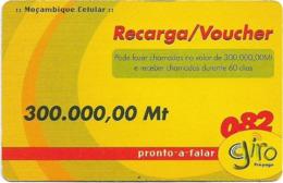 Mozambique - Giro - Girinho Yellow, 300.000MT, Exp.31.12.2004, Used - Moçambique