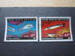 VEND BEAUX TIMBRES DES AFARS ET ISSAS N° 441 + 442 , XX !!! - Afars Et Issas (1967-1977)