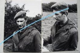 Photox5 Koning Filip Philippe Van Belgïe Royauté Service Militaire Ecole Militaire Militaria Armée Belge Belgische Leger - Oorlog, Militair