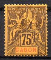 Col17  Colonie Gabon  N° 29 Neuf X MH Cote  30,00€ - Neufs